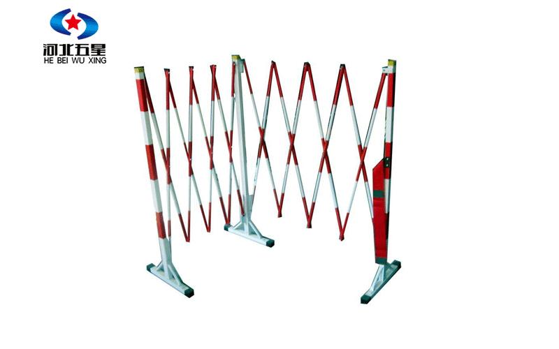 管状绝缘伸缩防护栏