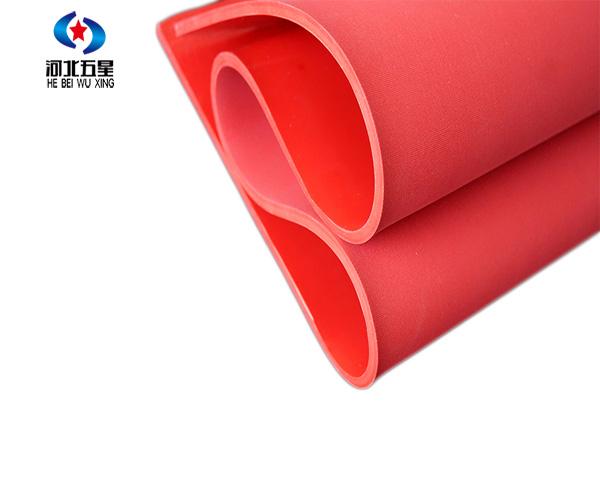 红色防滑绝缘胶垫